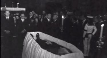 Cerimónia fúnebre de António de Oliveira Salazar – II Parte