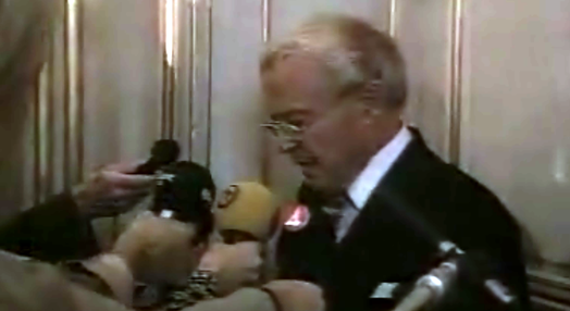 Anúncio do Nobel para José Saramago