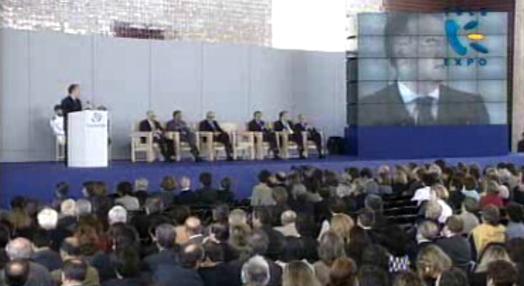 Cerimónia de encerramento da Expo 98