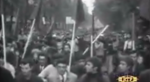 Manifestações estudantis
