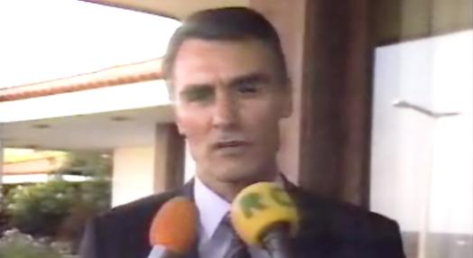 Reacção de Cavaco Silva ao acidente aéreo na Jamba