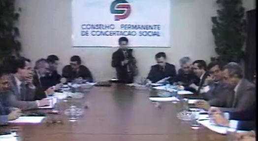 Reunião do Conselho Permanente de Concertação Social