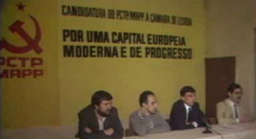 Garcia Pereira candidato à Câmara de Lisboa