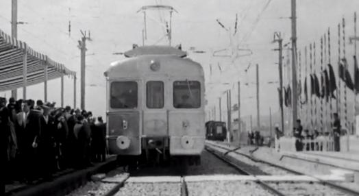 Inauguração do Comboio Eléctrico