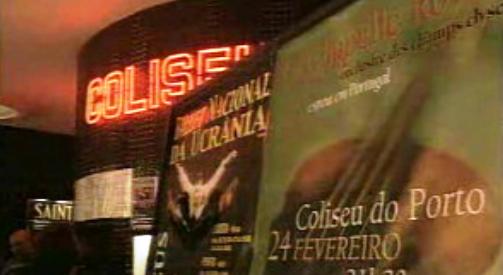 Corrida às bilheteiras para o Porto 2001