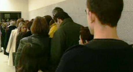 Museu de Serralves com grande número de visitantes