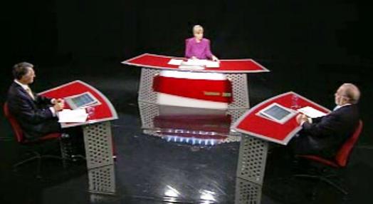 Debate entre Cavaco Silva e Manuel Alegre