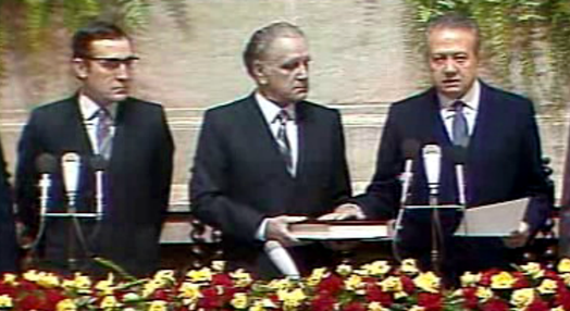 Posse de Mário Soares como Presidente da República
