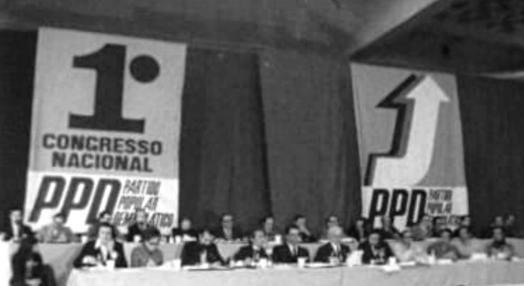 I Congresso Nacional do PPD – primeiro dia