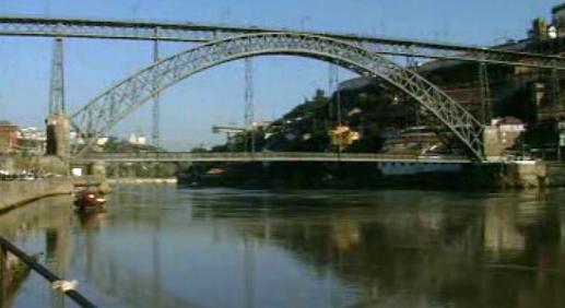 Reportagem sobre as pontes sobre o rio Douro no Porto