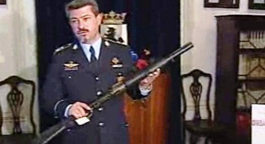 Armas ápreendidas pela PSP