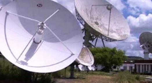 Centro de Controlo de  Satélites de Sintra