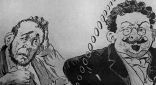 "Caricatura política no jornal ""O Thalassa"""