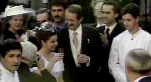 Casamento de Dom Duarte Pio com Isabel de Herédia