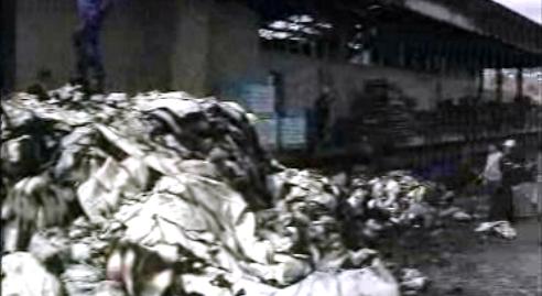 Incêndio em fábrica têxtil
