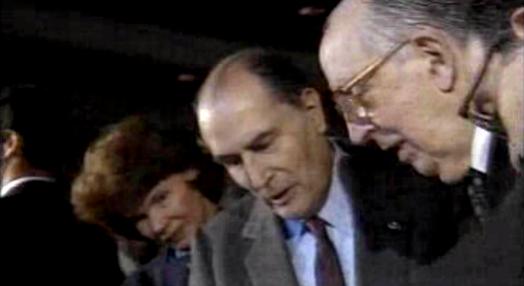 François Mitterrand em Portugal