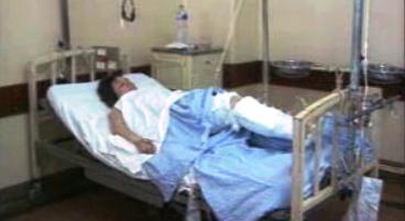 Arlindo de Carvalho visita vítimas de acidente ferroviário