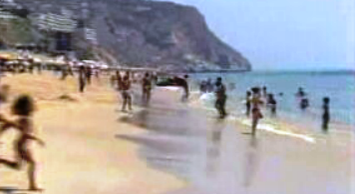 Praias portuguesas com bandeira azul