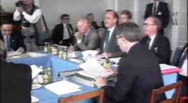 Ministros dos Negócios Estrangeiros da CEE na Irlanda