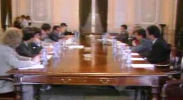 Reunião da Associação de Municípios com o Governo