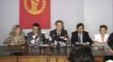 Conferência de imprensa do PS