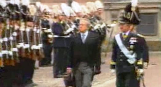 Mário Soares visita a Suécia