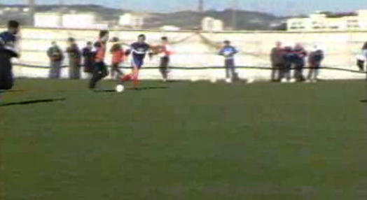 Futebol: treino da seleção nacional