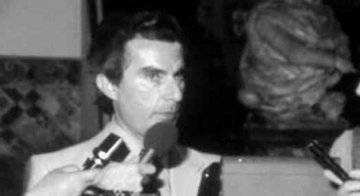 Declarações de Sá Carneiro no Palácio de Belém