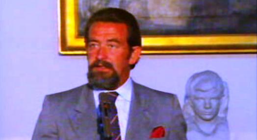 Conferência de imprensa de João de Deus Pinheiro
