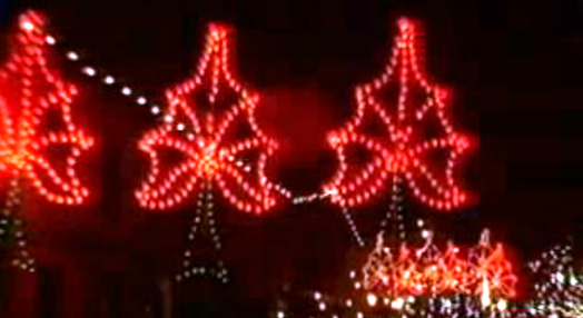 Decorações natalícias no Funchal