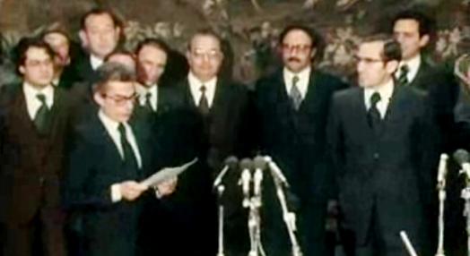 Tomada de posse do VI Governo Constitucional – II