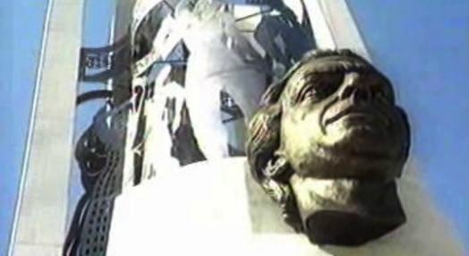 Inauguração de monumento a Sá Carneiro