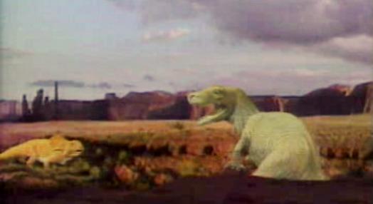 Vestígios de dinossauros em Carenque