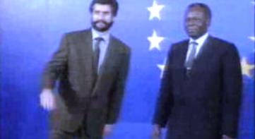 Visita de José Eduardo dos Santos à CEE