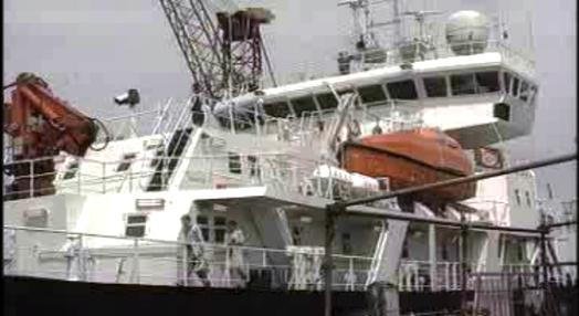 Reparação do navio Discovery