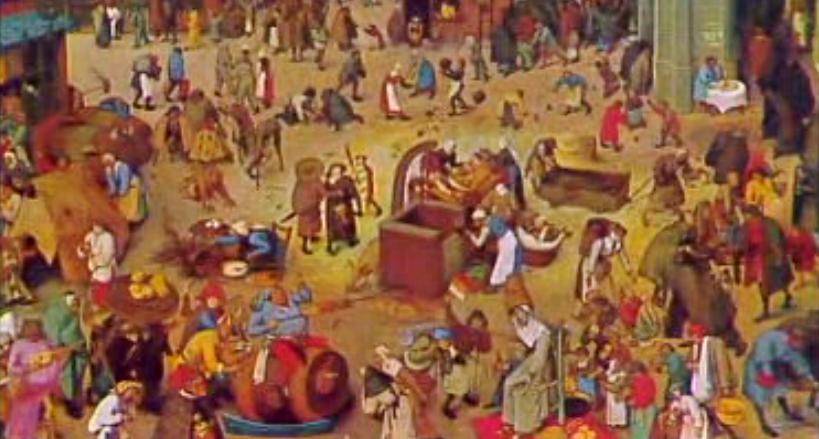Esta Noite Sonhei com Brueghel