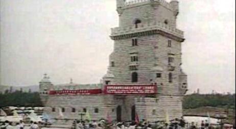 Réplica da Torre de Belém na China