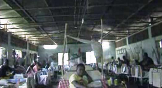 Degradação de hospital guineense