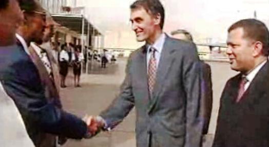 Cavaco Silva visita Cabo Verde