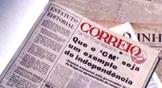 """Jornal """"Correio do Minho"""""""