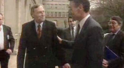 Visita de Cavaco Silva a Genebra
