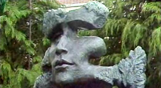 Inauguração de busto de Florbela Espanca