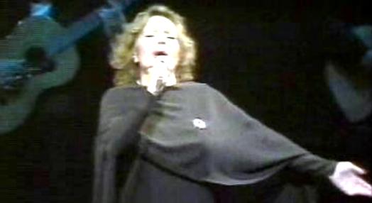 Amália Rodrigues no Olympia