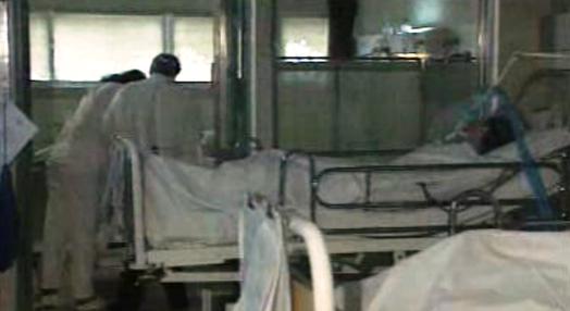 Falta de ventiladores no Hospital Curry Cabral