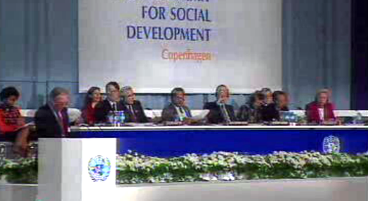 Cimeira sobre Desenvolvimento Social Mundial
