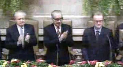 Jorge Sampaio toma posse como Presidente da República