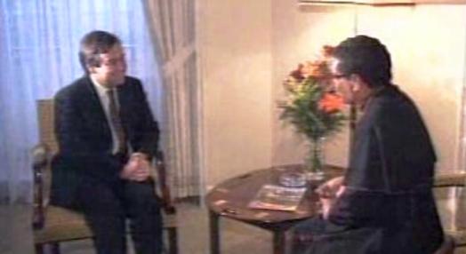 Encontro de Dom Ximenes Belo com Jorge Sampaio e António Guterres