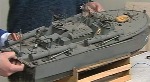 Construção do Elco Boat PT109