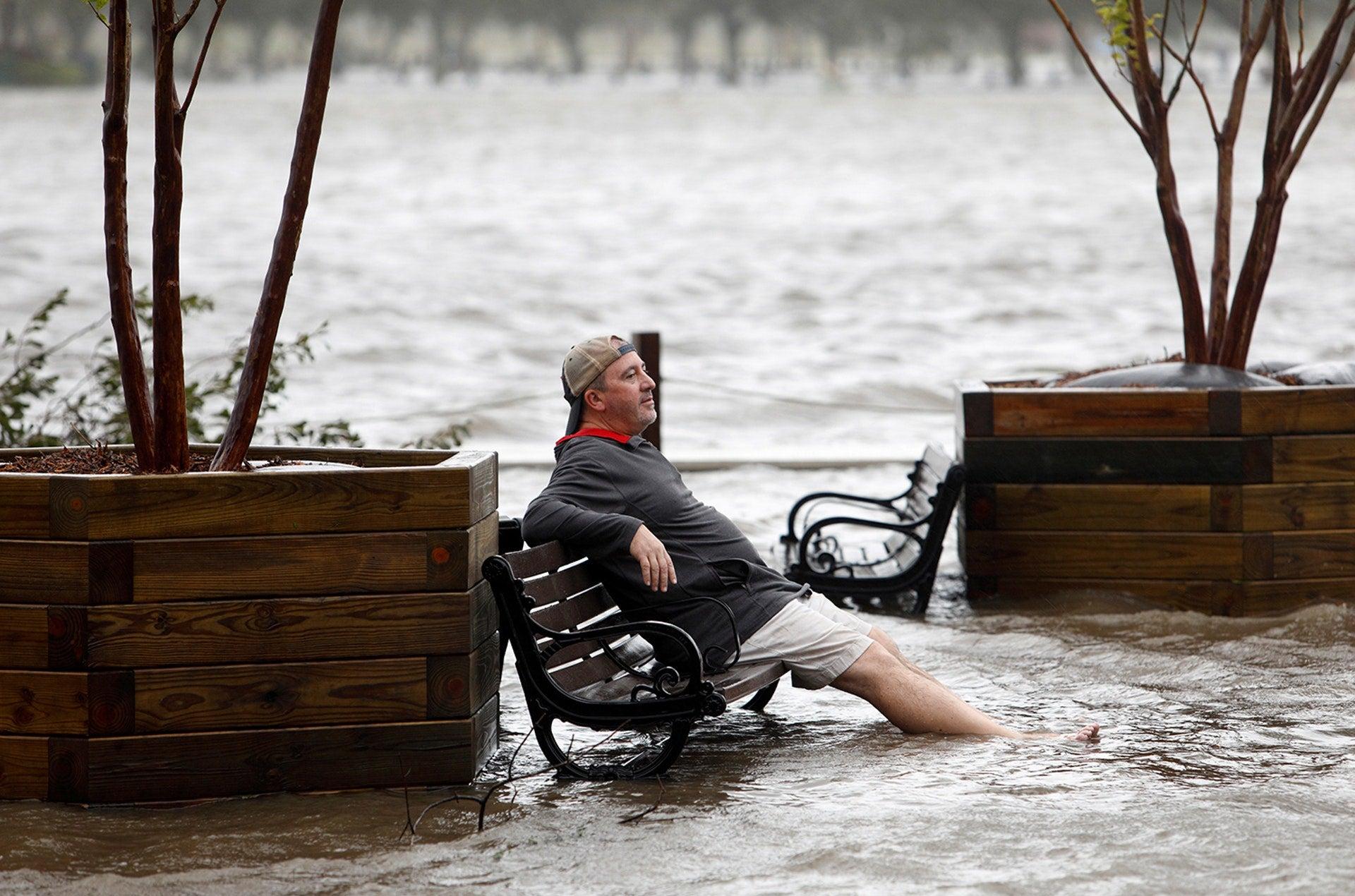 Inundações na Carolina do Norte /Jonathan Drake - Reuters