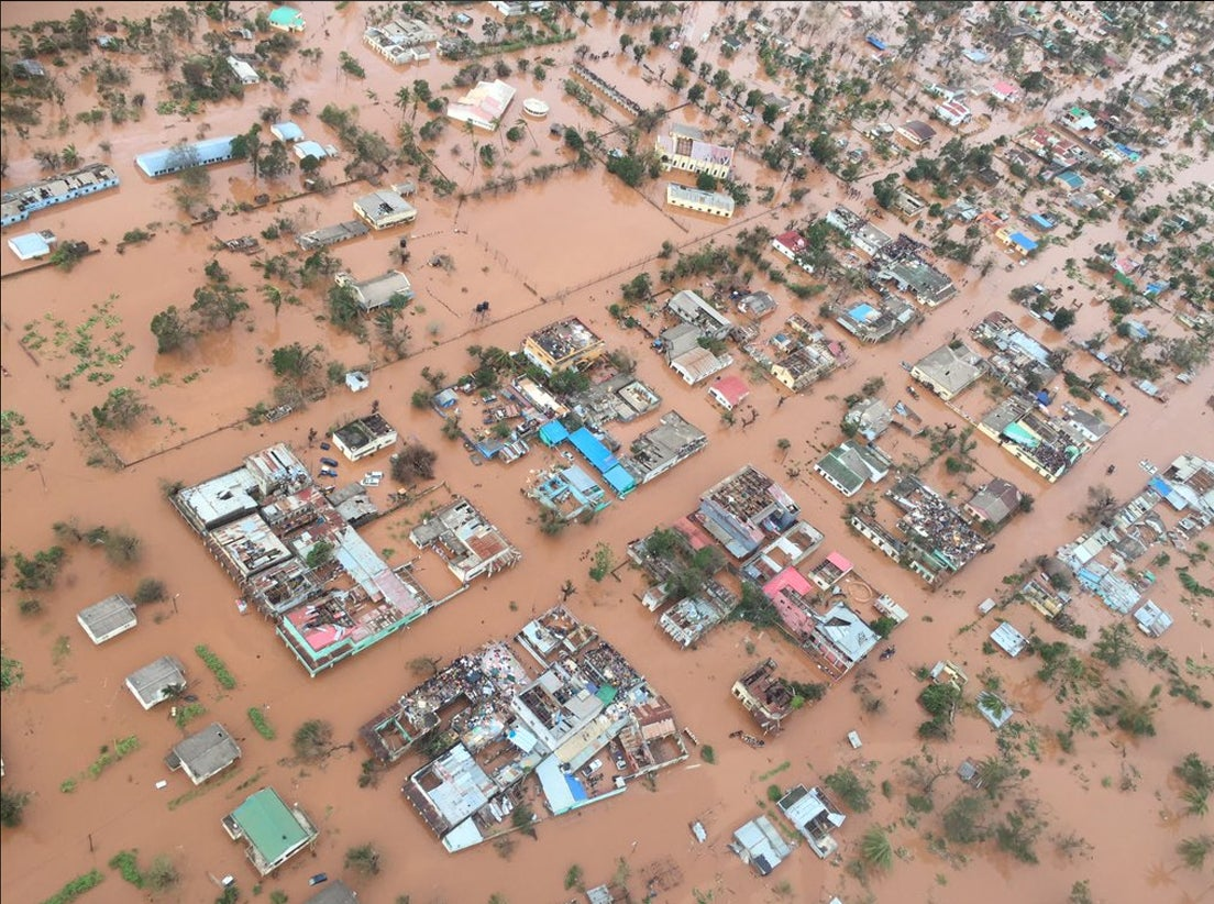 446 pessoas morrem após passagem do Ciclone Idai em Moçambique